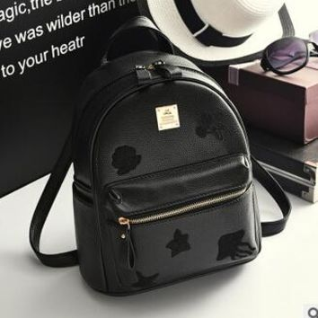 Cool Backpack school COOL WALKER NEW Fashion High Quality Designed Brand Backpack Women Backpack Leather School Bag Women Casual Style Small Backpack AT_52_3
