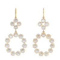 Rainbow moonstone & yellow-gold earrings | Marie-Hélène De Taillac | MATCHESFASHION.COM US