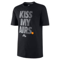 "Nike Air ""Kiss My Airs"" Men's T-Shirt Size Large (Black)"