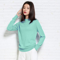 adohon 2016 womens winter Cashmere sweaters and auntmun women knitted Pullovers High Quality Warm Female thickening Turtleneck