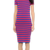 Harvey Faircloth Fitted T-Shirt Dress