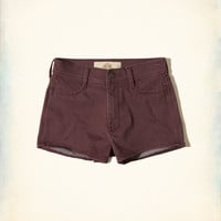 Girls High-Rise Sateen Short-Shorts | Girls Bottoms | HollisterCo.com
