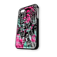 BLINK 182 Rock Band Logo (3) iPhone 4/4S Case