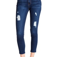 Current/Elliott | High-Waist Distressed Denim Jeans | Nordstrom Rack