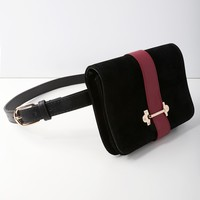 Mariella Black Belt Bag