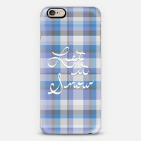 Let it Snow iPhone 6s case by Lisa Argyropoulos | Casetify