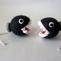 Super Mario Nintendo Ear Biting Chain Chomp by SimplyEncharming