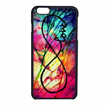 Infinity Love Purple Cracked Out iPhone 6 Case