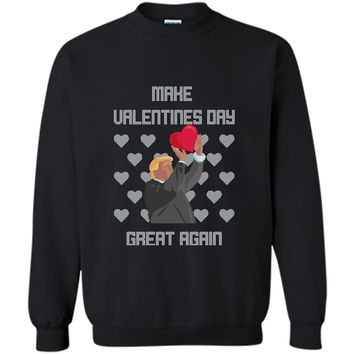 Make Valentines Day Great Again Funny Donald Trump T-Shirt