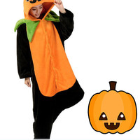 New Happy Charming Jack O Lantern Adult Kigurumi Costume Onesuit KK293