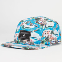 Lira Islander Mens 5 Panel Hat Blue One Size For Men 23378920001