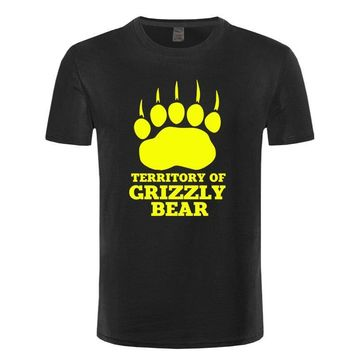 Bear Paw - Territory Of Grizzly Bear T-Shirt