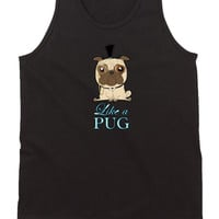 Like A Pug Mens Tank Top