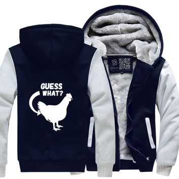 Guess What Ladies, Funny Fleece Jacket
