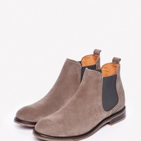 SHARNBROOK SUEDE CHELSEA BOOTS