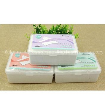 ONETOW Disposable Makeup Remover Pads 48box Facial Cleansing Cotton Cosmetics Wet Tissues Non-woven  Cleanser Wipes 1000 Pumping Boxed