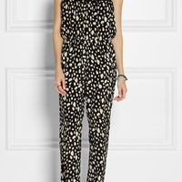 SEA | Printed silk jumpsuit | NET-A-PORTER.COM