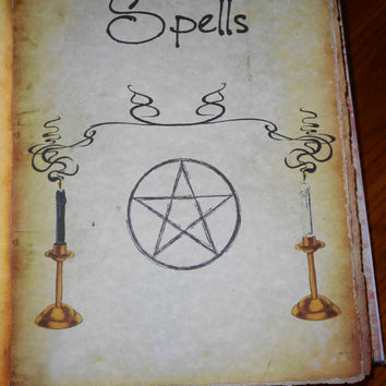 Spells Heading Page (Mounted Pages)