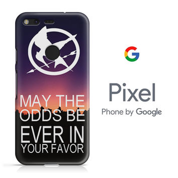Hunger Games Quote Google Pixel Phone 3D Case