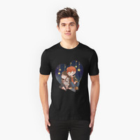 'Mystic Messenger - 707 & MC' T-Shirt by Blimpcat