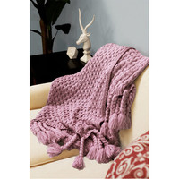 Judy Throw in Dusty Rose