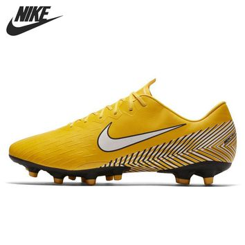 Original New Arrival 2018 NIKE VAPOR 12 PRO NJR AG-PRO Men's Football Shoes Sneakers