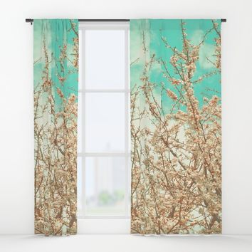 Blossoms Window Curtains by ARTbyJWP