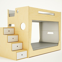LoLo BUNK BED WITH STAIRS