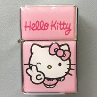 Pink/Pink Hello Kitty Flip Top Lighter