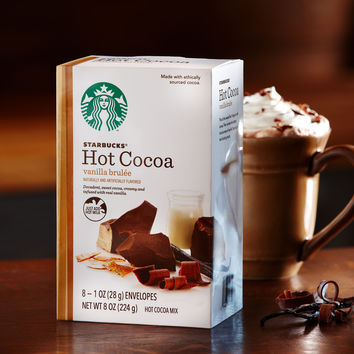 Starbucks® Vanilla Brulée Hot Cocoa Mix