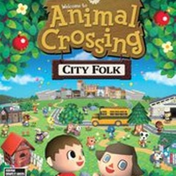 Animal Crossing: City Folk (Nintendo Wii, 2008) Complete