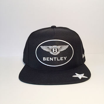 Bentley logo star custom snapback hat