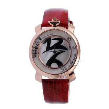 New Arrival Good Price Awesome Gift Trendy Great Deal Designer's Simple Design Stylish Fashion Ladies Leather Watch [4919937412]