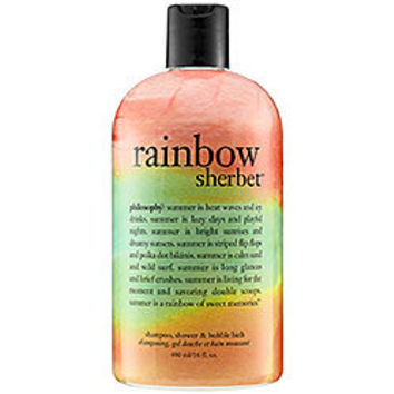 Philosophy Rainbow Sherbet™ Shampoo, Shower Gel & Bubble Bath: Shop Body Cleanser | Sephora