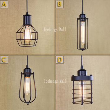 Shop Industrial Cage Lighting On Wanelo