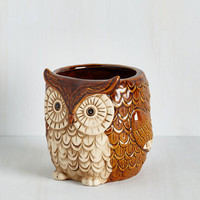 Owls Hoo Could That Be? Planter by ModCloth