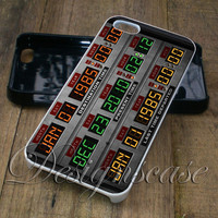 Back To the Future Time Circuits Case for iPhone Case,Ipod Touch Case, Samsung Galaxy Case, Xperia Case, HTC Cases Available Rubber Plastic Case