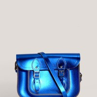"Cambridge Satchel - 11"" metallic satchel 