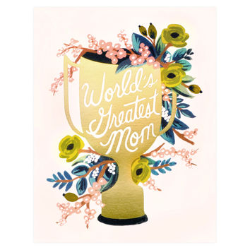 World's Greatest Mom Mother's Day Card