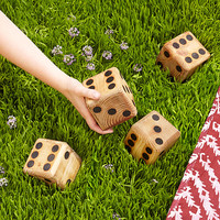 Yard Dice | backyard games, dice, wooden game