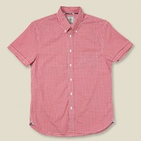 STAG -  York St. by J. Press -  Pierpoint Gingham Shirt - Red - NEW ARRIVALS