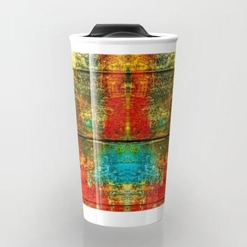 Colors-Feeling Travel Mug by Karl-Heinz Lüpke