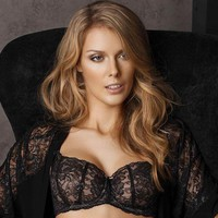 SHEER BALCONETTE BRA SERMIJA MADEMOISELLE CHANTE LE BLUES (SJ173-16L)