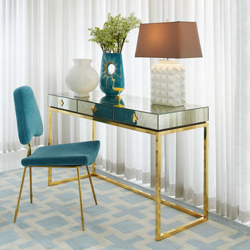 Delphine Desk | Modern Furniture | Jonathan Adler