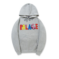 Thicken Unisex Fashion Palace Cotton Print Hoodies [9571151623]