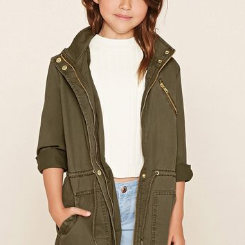 Girls Utility Jacket (Kids)