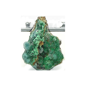Druzy Drusy Chrysocolla Natural Mineral Specimen Quartz Druse over Blue and Green Chrysocolla for your Thumbnail Rock and Mineral Collection
