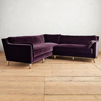 Velvet Leonelle Right Sectional