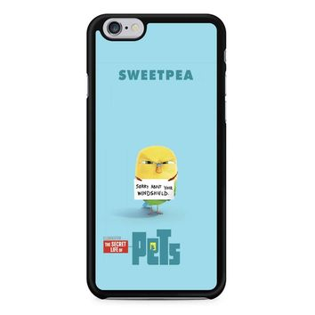 The Secret Life Of Pets Sweetpea Poster iPhone 6/6s Case