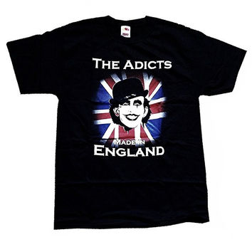 The Adicts - Made In England T-shirt (Large-Youth)